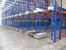 show case-union shuttle racking